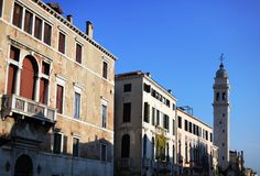 Venice, architecture details Royalty Free Stock Images