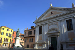 Venice church Stock Images
