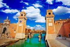 Venice Arsenal- Arsenale di Venezia Royalty Free Stock Image