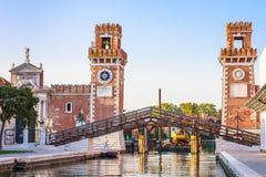 Venice, Arsenale historic shipyard Royalty Free Stock Photography