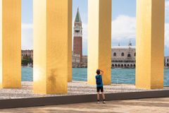 Venice: art and culture Royalty Free Stock Photos