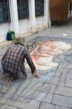 Venice Artist Royalty Free Stock Photos
