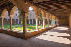 Venice - atrium of church San Francesco della Vigna Royalty Free Stock Images