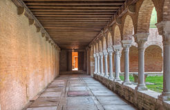 Venice - atrium of church San Francesco della Vigna Stock Photo