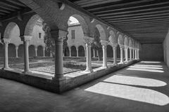 Venice - atrium of church San Francesco della Vigna Royalty Free Stock Photo