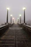 Venice in Autumn. With fog stock photos