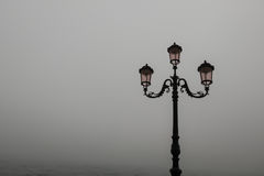 Venice in Autumn. With fog Royalty Free Stock Photos