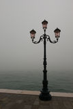 Venice in Autumn. With fog Stock Image