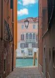 Venice backstreet Royalty Free Stock Photo