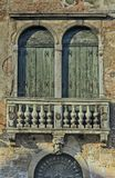 Venice Balcony. A typical Venice Balcony. These are old buildings where everything is broken and rotting Royalty Free Stock Image