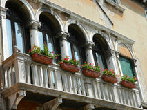 Venice balcony Stock Photos