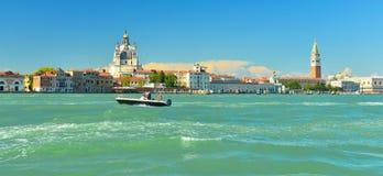Basilica Santa Maria della Salute, Venice, Italy. Grand Canal and Basilica Santa Maria della Salute, Venice, Italy royalty free stock photos