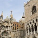 Venice Basilica of Saint Mark Stock Photography