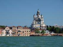 Venice. Basilica of the Salute as seen from the Giudecca Canal Stock Photos