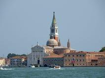 Venice - basilica of San Giorgio Maggiore. Stock Images
