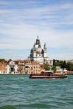 Venice, basilica Santa Maria della Salute Stock Photos