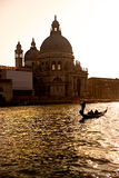 Venice,  basilica of santa maria della salute. Royalty Free Stock Image