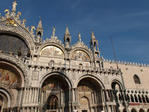 Venice - The basilica St Mark's. Stock Images