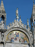 Venice - The basilica St Mark's. Royalty Free Stock Photo