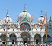 Venice Basillica Stock Image