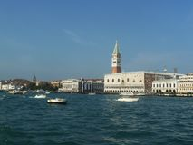 Venice bay in Italy. Beautiful Italian holiday stock photo