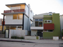 Venice Beach Architecture. Modern buildings in Venice Beach, California Stock Photography