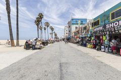 Venice Beach Boardwalk Editorial Stock Photography