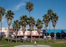 Venice beach boardwalk Stock Images