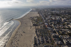 Venice Beach California Aerial Royalty Free Stock Photos