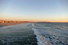 Venice Beach California Dusk Stock Photo
