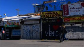 Venice Beach stock footage