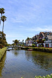 Venice Beach Canal Royalty Free Stock Photos