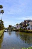 Venice Beach Canal Royalty Free Stock Photos