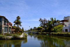 Venice Beach Canal Royalty Free Stock Photo