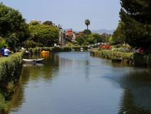 Venice Beach Canals Stock Photography
