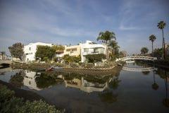Venice Beach. Venice Canals near Venice Beach in Los Angeles, California, USA Royalty Free Stock Image