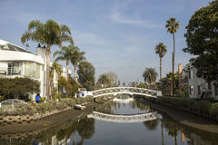 Venice Beach. Venice Canals near Venice Beach in Los Angeles, California, USA Royalty Free Stock Photography