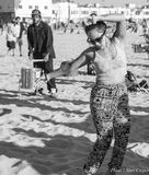 Venice Beach: Drum Circle 2 Royalty Free Stock Images