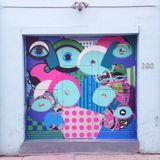 Venice Beach Graffiti Street Art Mural Stock Photography
