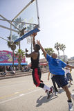Venice Beach Hoops 4 Royalty Free Stock Images