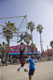 Venice Beach Hoops 5 Royalty Free Stock Photo