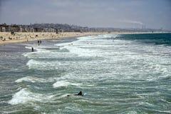Venice beach landscape Stock Images