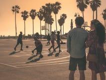 Venice Beach Love Story stock afbeeldingen