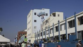 Venice Beach stock video footage