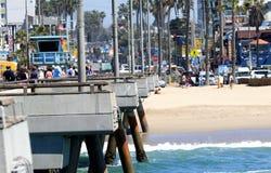 Venice Beach Pier Stock Image