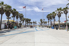 Venice Beach Plaza Los Angeles Stock Image