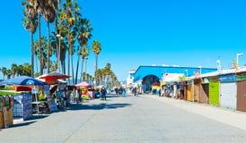 Venice Beach Promenade Royalty Free Stock Images