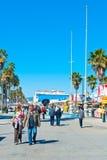 Venice Beach Promenade Stock Photos