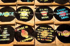 Venice Beach Retail. Venice Beach Art Paint Disk Stock Images