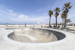Venice Beach Skate Board Park Stock Photo